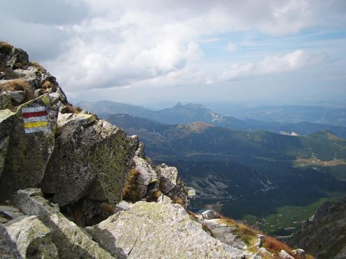 Dol.Gąsienicowa ze Skrajnego Granatu