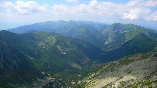 Dolina Cicha ze Świnicy