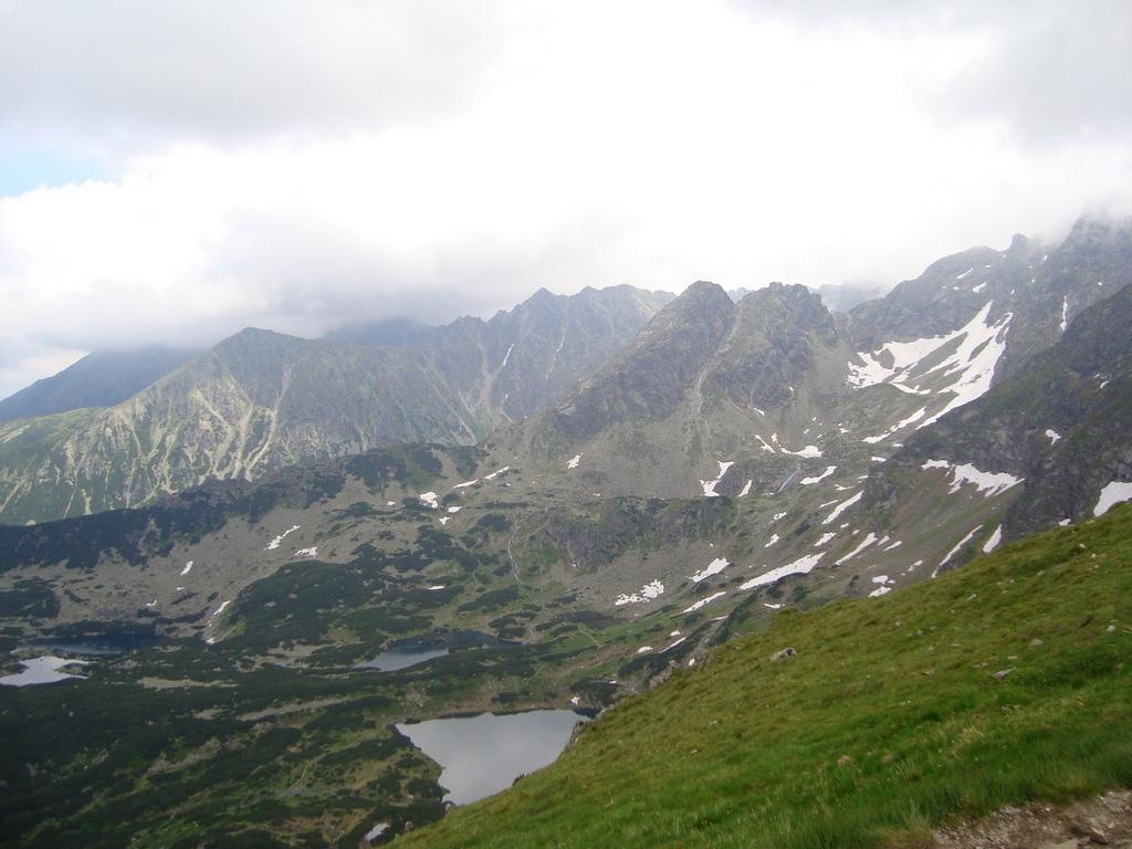 Dolina Gąsienicowa i Kościelec - górą..