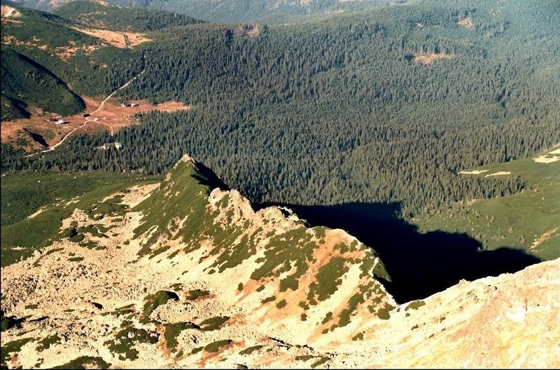 Dolina Gąsienicowa ze Świnicy