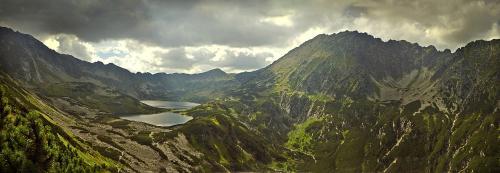Dolina Pięciu Stawów i Buczynowa Dolinka