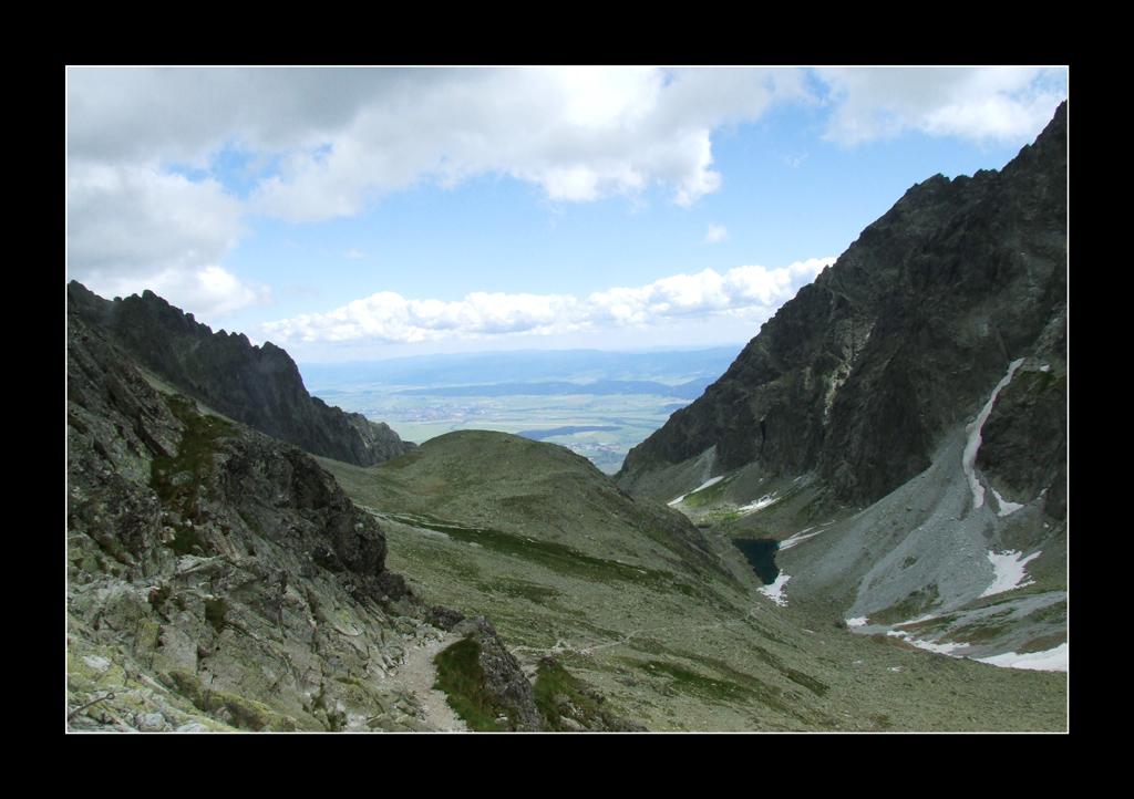 Dolina Wielicka z Polskiego Grzebienia
