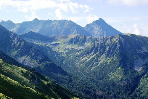 Dolina Wierchcicha i Krywań
