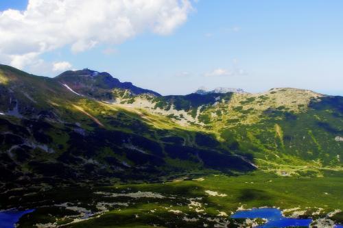 Dolina Zielonej Wody z przełęczy Karb