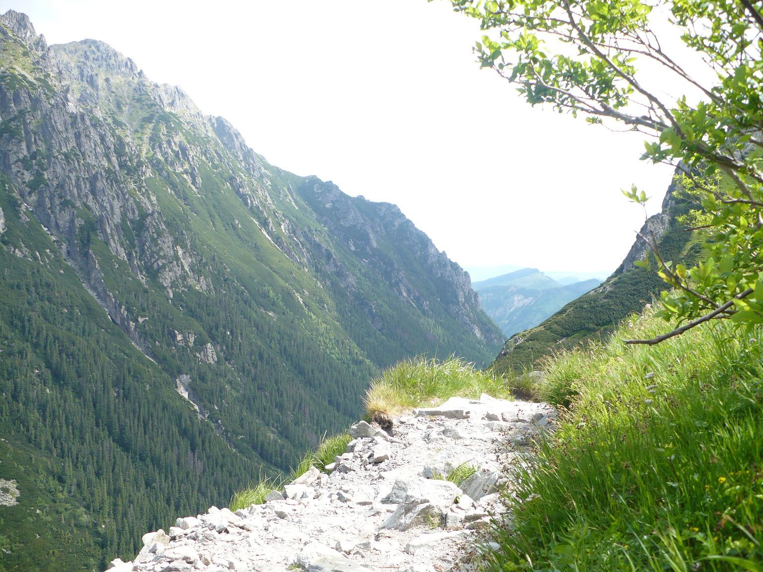 Droga do Doliny 5 Stawów