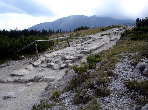 Droga do Doliny Gąsienicowej