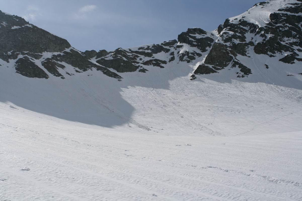 Droga na Szpiglasową Przełęcz