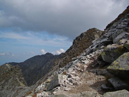 Droga na szczyt czyli na Skrajny Granat