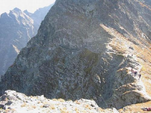 Galeryjka przed przełęczą