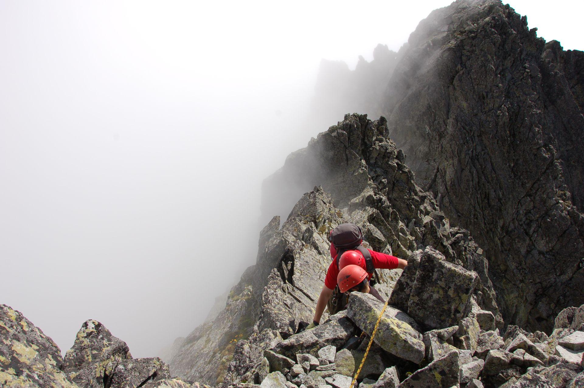 Gierlach - tuż przed szczytem
