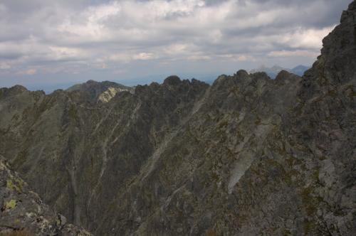 Granaty widok z Koziego Wierchu