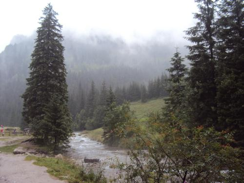 Hej tam w dolinie-deszczyk pada potok płynie