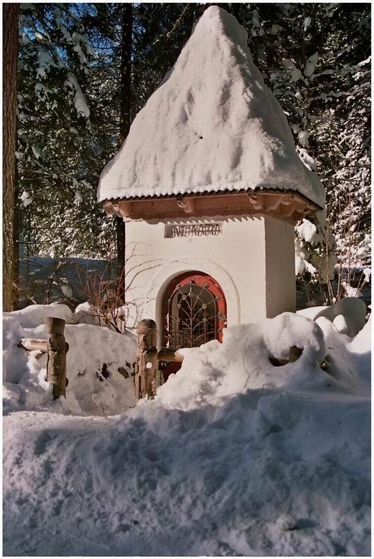 Kapliczka Górnicza w Dolinie Kościeliskiej