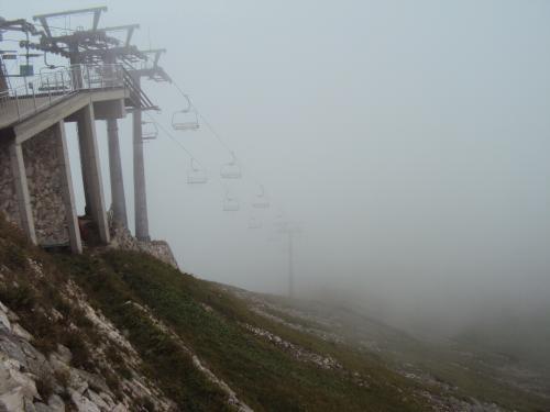 Kasprowy Wierch.Czy to mgła czy chmury
