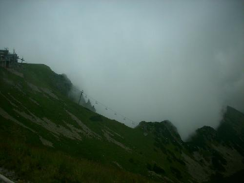 Kasprowy w chmurach