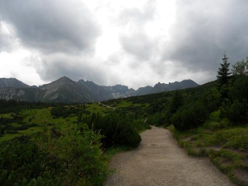 Kierunek Dolina Gąsienicowa