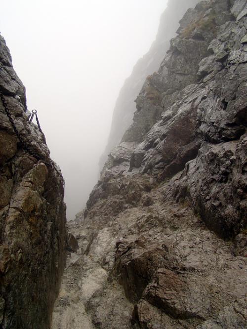 Kozia Przełęcz-zejście do dol. Pustej