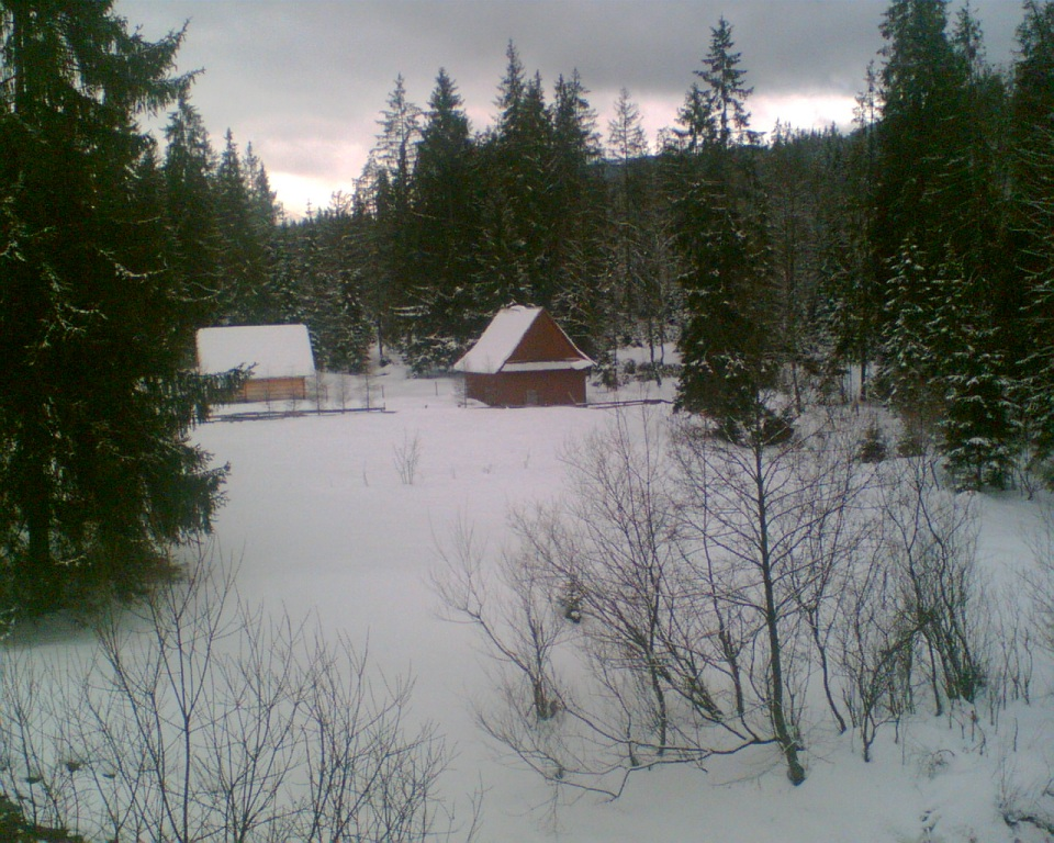 Małe Ciche zimą