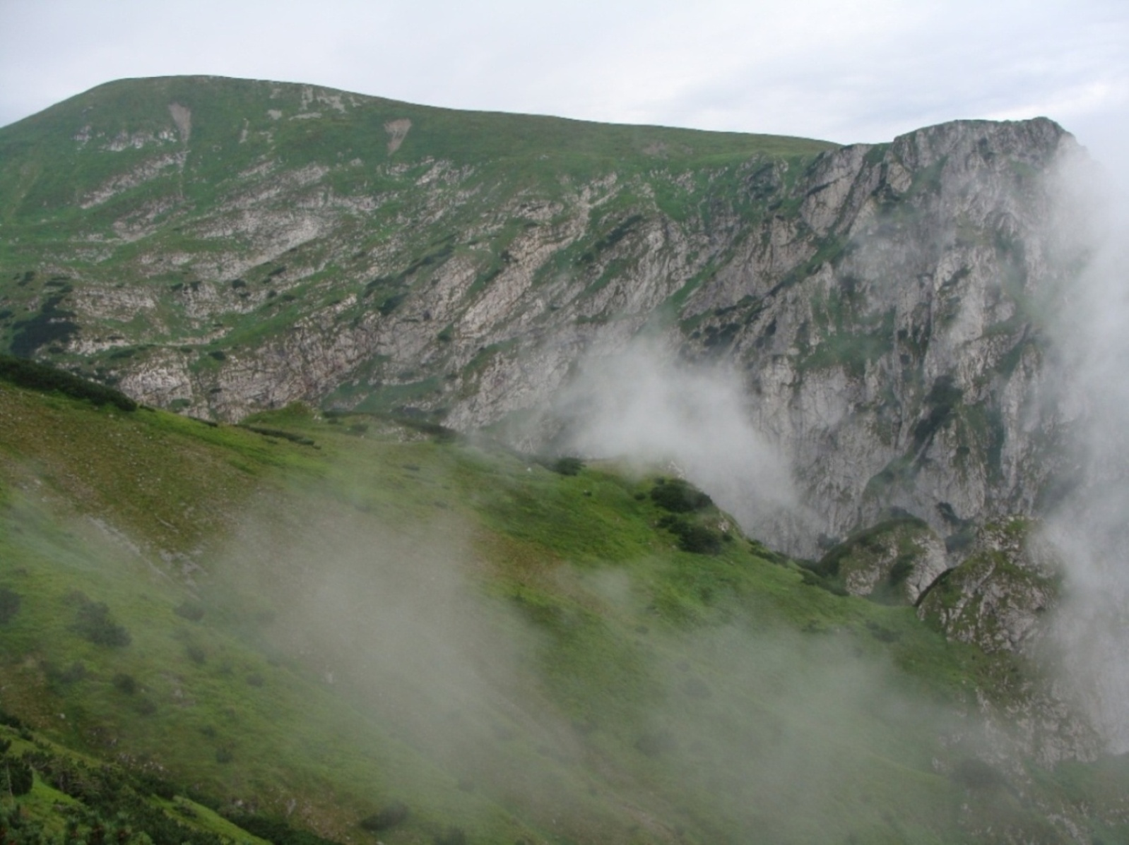Małołączniak(2096m.n.p.m.)z Kondrackiej Przełęczy