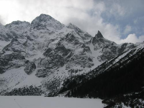 Mieguszowieckie szczyty Cubryna i  Mnich
