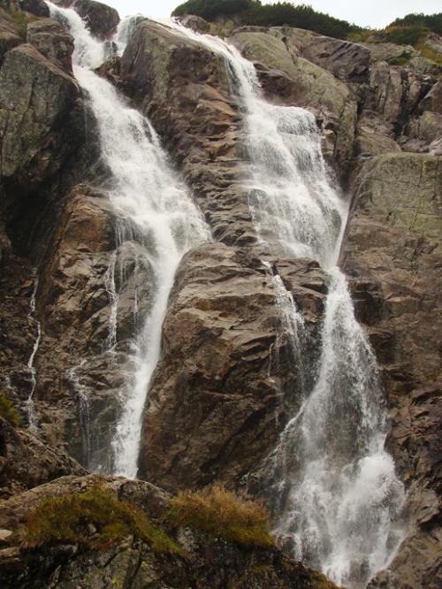 Najpotężniejszy wodospad Tatr - Wielka Siklawa