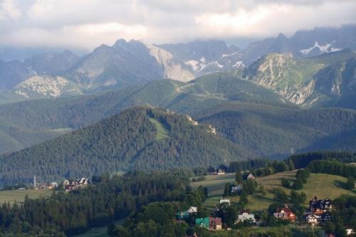 Nosal i szczyty nad Gąsienicową Doliną