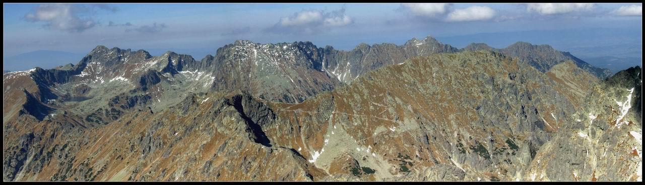 Orla Perć i Szpiglasowa Przełęcz z Koprowego Wierchu