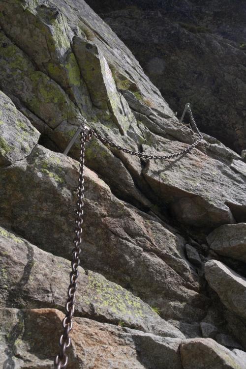 Orla Perć na szlaku w kierunku Kozi Wierch