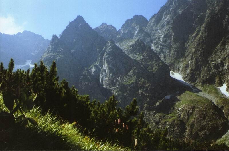 Otoczenie doliny Białej Wody