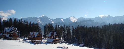 Panorama Tatr z Głodówki