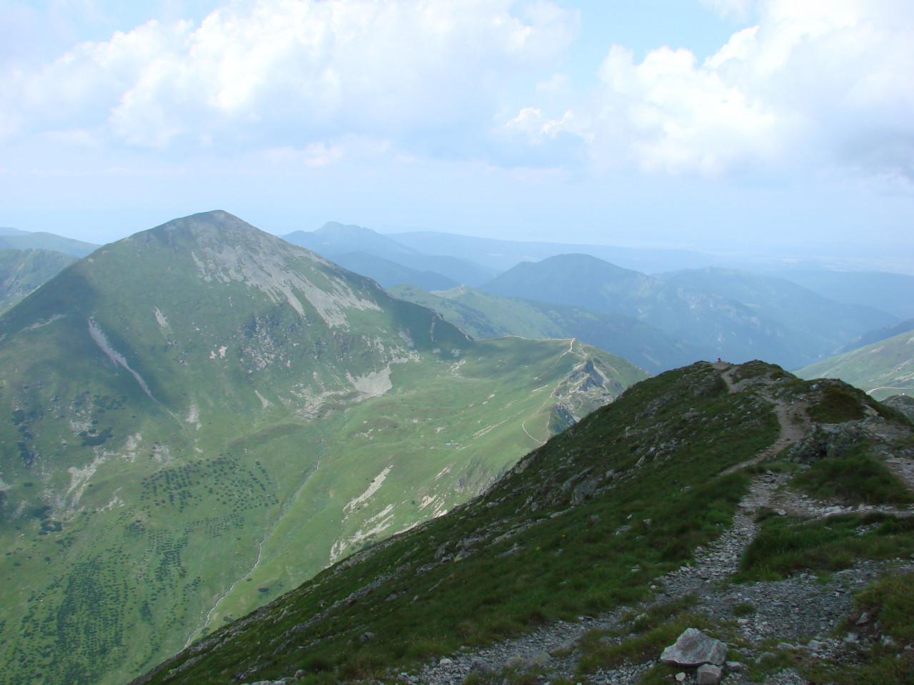 Panorama z Bystrej