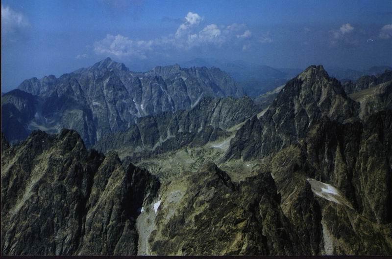 Panorama z Gerlacha