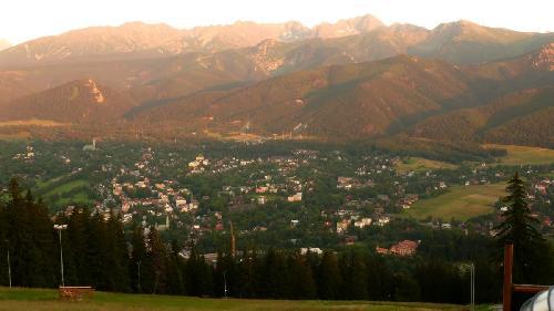 Panorama z Gubałówki