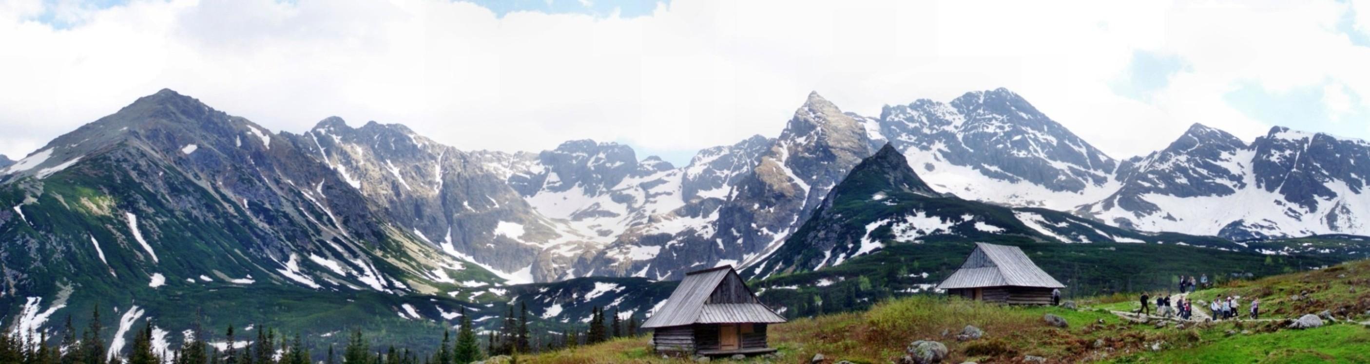 Panorama z Hali Gąsiennicowej