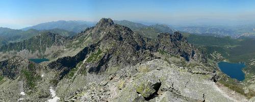 Panorama z Koziego Wierchu