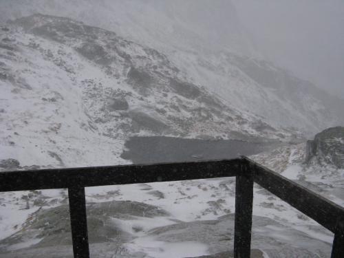 Pierwszy śnieg tego lata w Tatrach