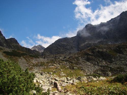 Podejście na próg Doliny Litworowej