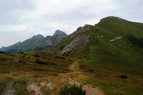 Przełęcz Pod Kopą w Tatrach Bielskich