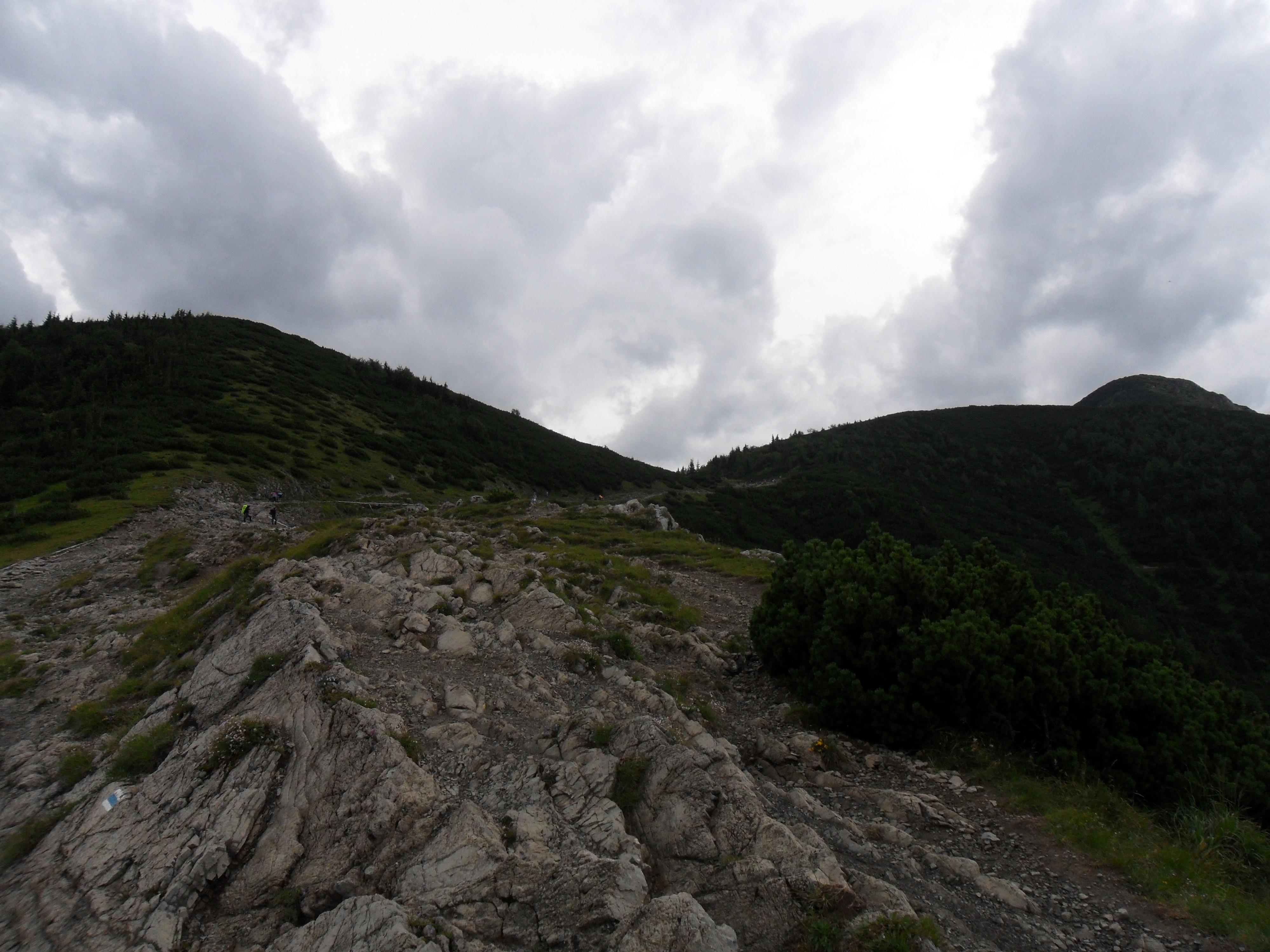 Przełęcz między Kopami - Szlak przez Boczań