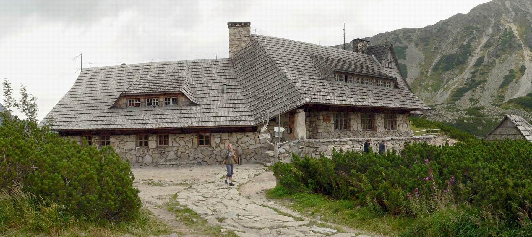 Schronisko w Doline Pięciu Stawów Polskich