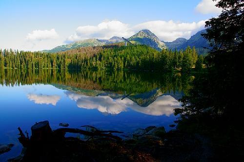 Sczyrbskie Jezioro i Skrajne Solisko