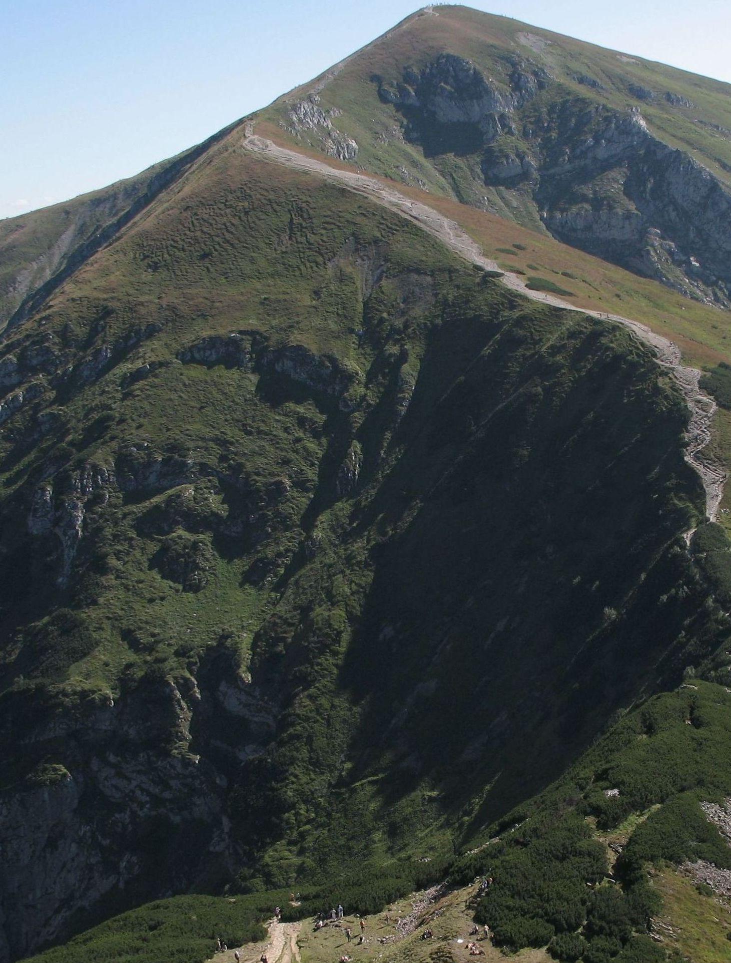 Szlak na Kopę Kondracką