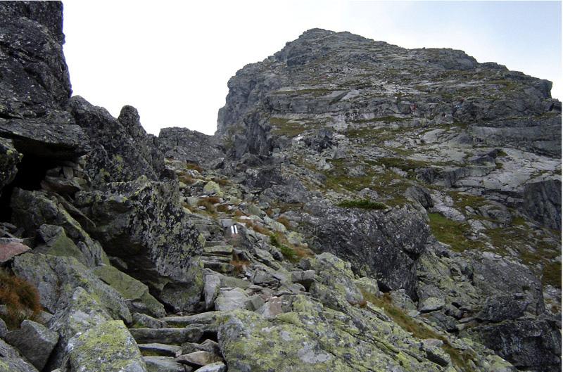 Szlak na Kościelec