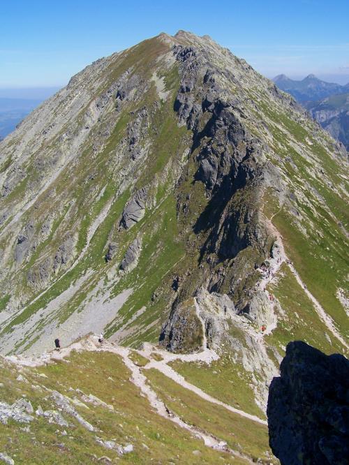 Szpiglasowa Przełęcz ze Szpiglasowego Wierchu