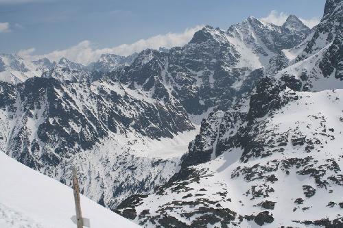 Tatry Wysokie ze Szpiglasowej Przełęczy
