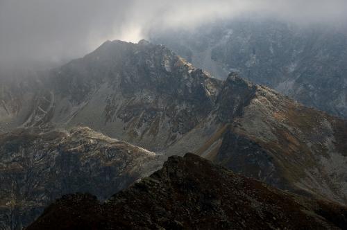 Tatry widziane z Zawratu