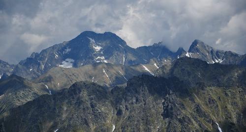 Tatry ze szlaku na Szpiglasowy Wierch