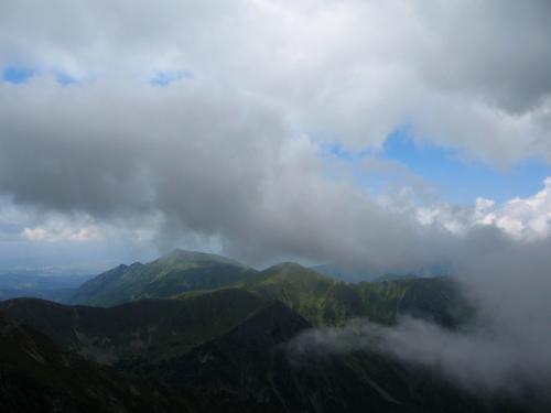 W chmurach