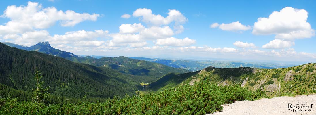 Widok na Dolinę Jaworzynka