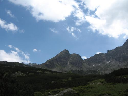 Widok na Kościelec z Doliny Gąsienicowej